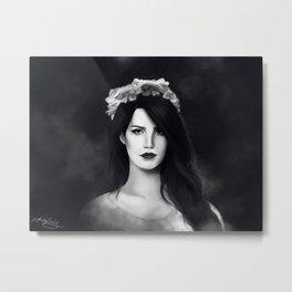 Dark Paradise (B&W) Metal Print