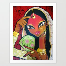 Nautch Girl Art Print