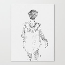 Parker Girl Canvas Print