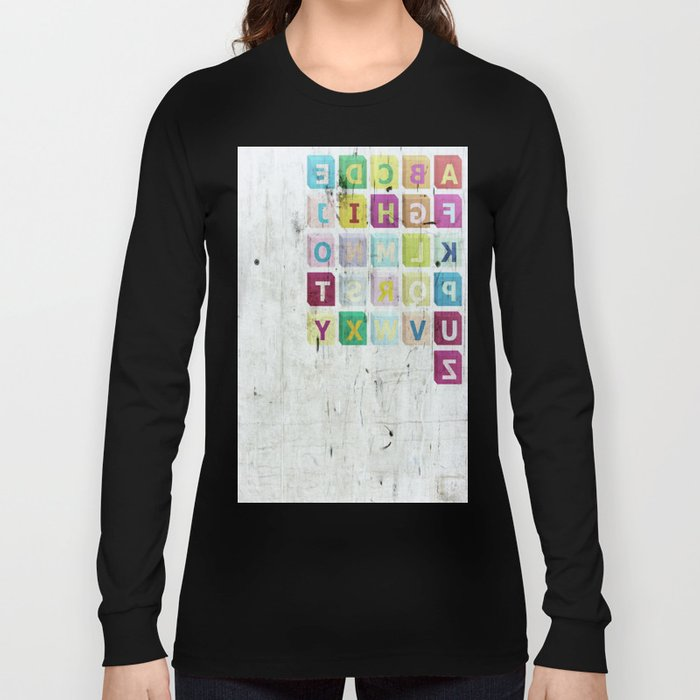 encrypted message Long Sleeve T-shirt