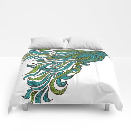 Dreams of Flying Comforters
