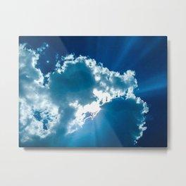 Shining Through the Heavens III Metal Print