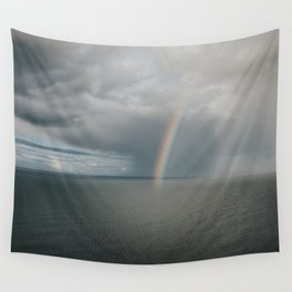Rainbow I - Landscape and Nature Photography Wall Tapestry