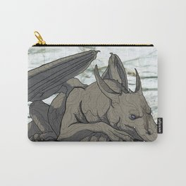 Grey Dragon Carry-All Pouch
