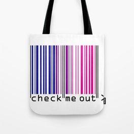 CHECK ME OUT (bi) Tote Bag