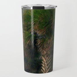Palm Trees, Stormy Weather Travel Mug