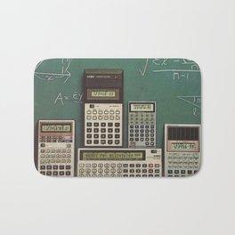 Casio Calculators...the good old days. Bath Mat