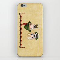 german iPhone & iPod Skins featuring German Chibis by artwaste