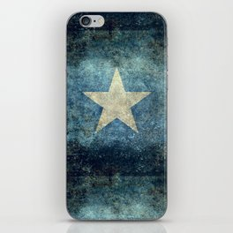 Somalian national flag - Vintage version iPhone Skin