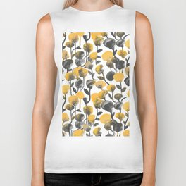 Full Of Flower Biker Tank