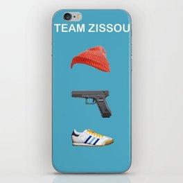 Team Zissou iPhone Skin
