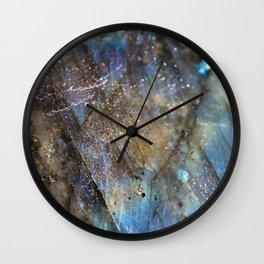 LABRADORITE 1 Wall Clock
