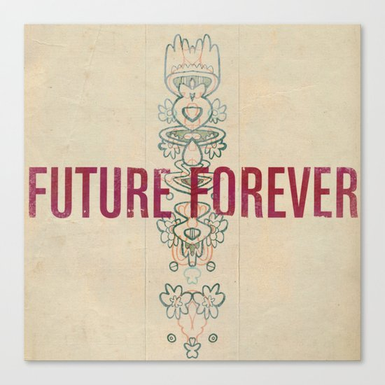 Future Forever Canvas Print