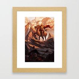 The Righteous Dawn Framed Art Print