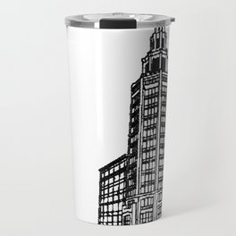 the Electric Tower Travel Mug