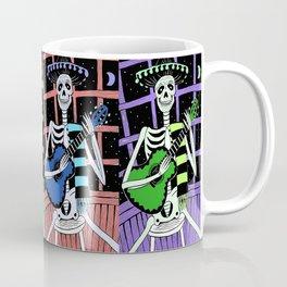 Skeleton w/ Guitar/Day of the Dead/Dia de los Muertos Coffee Mug