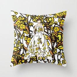 Audrey 12 Throw Pillow