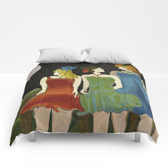 After Party Hour Comforters