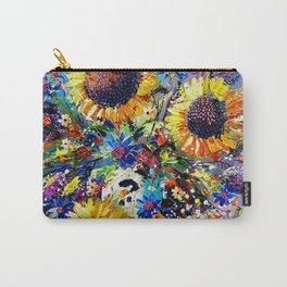 Sunshine and Splendour Carry-All Pouch