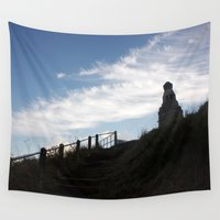 law Wall Tapestries featuring Dundee Law 1 by RMK Photography