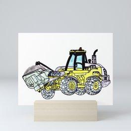 Front-End Loader Mini Art Print