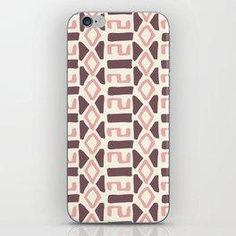 Pink Fall Tribal #society6 #tribal iPhone Skin