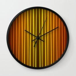 Warm Curtain Wall Clock