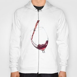 Elegant Red Wine Photo Hoody