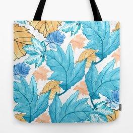 Leaf pattern 2 Tote Bag