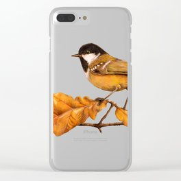 On The Oakleaf Clear iPhone Case