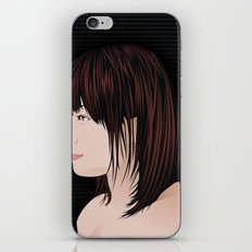japan girl iPhone & iPod Skin
