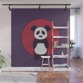 Panda Visits Japan Wall Mural