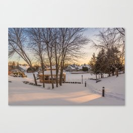 Winter Peace Canvas Print