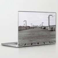 boardwalk empire Laptop & iPad Skins featuring Boardwalk by lennyfdzz