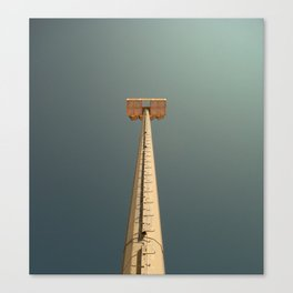 The T Canvas Print