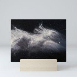 Moon and Clouds Mini Art Print
