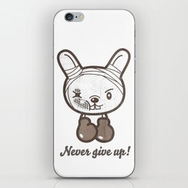 Boxing Bunny iPhone Skin