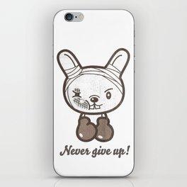 Boxing Bunny iPhone Skin