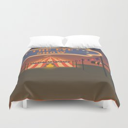 wellcome to the eye show Duvet Cover