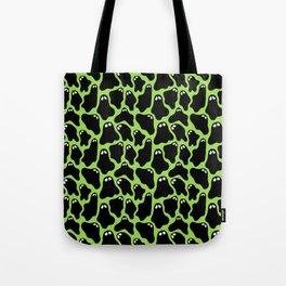 Ghosties (Green) Tote Bag