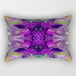 Tropical Hues in Dew Rectangular Pillow