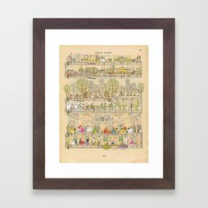 Special day Framed Art Print