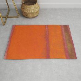 Orange Red and Yellow - Mark Rothko Rug