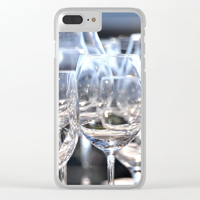 PARTY TIME Clear iPhone Case