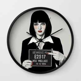 Mia Wall Clock