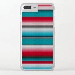 Mexican serape #5 Clear iPhone Case