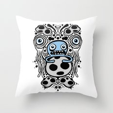 Panopticon Space (White Version) Throw Pillow
