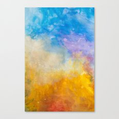 Motions of Color Canvas Print