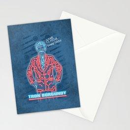 Tron Burgundy Stationery Cards