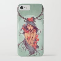 into the wild iPhone & iPod Cases featuring Wild by Joifish